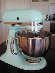 kitchenaid artisan stand mixer ice blue kitchen ideas
