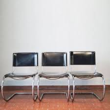 van der rohe furniture. Vintage MR 10 Lounge Chairs By Mies Van Der Rohe For Thonet, Set Of 3 Van Rohe Furniture R