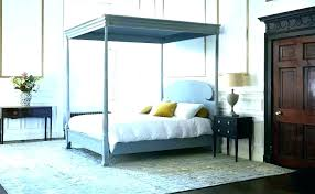 Queen Size Poster Bed Four Poster Queen Bed 4 Post Bed Frame 4 ...