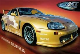 toyota supra fast and furious 2.  Furious Toyota Supra 2 Fast Furious Movie 24x36 Poster Print Street Racing Cars  Art To And 3