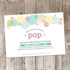 Ready To Pop Baby Shower DIY Printable Invitation Baby BoyReply To Baby Shower Invitation