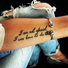 Tattoo Schriften Ausdruck Unserer Persönlichkeit Freshouse