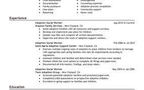 Resume Absolutely Design Resume For Social Worker 9 Best