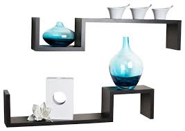 Small Picture S Wall Mount Shelves Set of 2 Contemporary Display And Wall