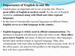 importance of english language essay writing dissertation  essay on importance of english language in important