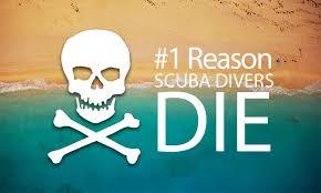 1 reason scuba divers