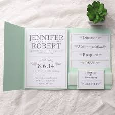 73 best green wedding invitations images on pinterest green Simple Folded Wedding Invitations cheap modern simple green pocket wedding invitations ewpi131 simple pocket wedding invitations
