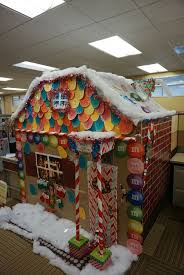 christmas office ideas. We Had A Christmas Cubicle Decorating Contest At Work. Our Ginger Bread House Won For Office Ideas I
