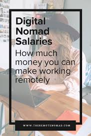 Graphic Design Jobs Vancouver Salary Digital Nomad Salaries How Much Money You Can Make Working