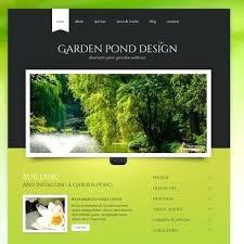 Garden Web Design Design