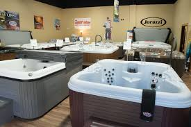 we feature world famous jacuzzi and michigan made nordic hot tubs