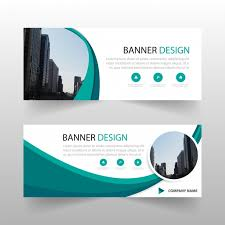 banner design template green circle abstract banner template design vector free download