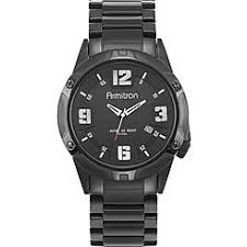 armitron men s watches dressy sears armitron mens black bracelet watch w black round dial