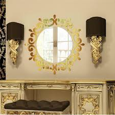 new arrivals diy mirror wall art stickers murals decal fashion home decoration acrylic jm11 on 3d mirror wall art stickers with new arrivals diy mirror wall art stickers murals decal fashion home