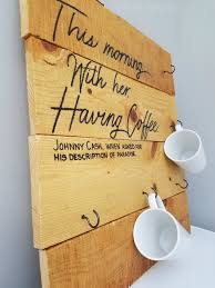 coffee cup holder with johnny cash coffee e