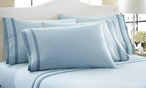 1000 count egyptian cotton sheets. Modren 1000 6 Piece 1000 Thread Count Egyptian Cotton Sheet Set Blue  King For Sheets 0