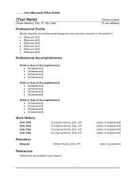 Microsoft Office Resume Templates 2010 Resume Cv Cover Letter