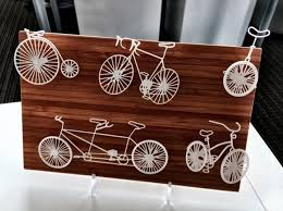 five bikes wire wall art 3d print 17436 on 3d printer wall art with 3d printed five bikes wire wall art by brandon george pinshape