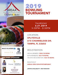 Bowling Event Flyer 2019 Bowling Tournament Areaa Greater Tampa Bay