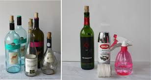 {DIY} How to Make Vintage Paint Wine Bottles