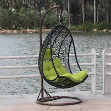 egg chair rattan hanging basket swing indoor outdoor furniture