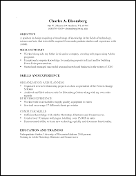 Freshman Resume For Internship Freshman Resume Sample Resume