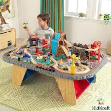 kidkraft cars table waterfall junction train set table 3 years kidkraft disney cars train table uk