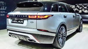 2018 land rover velar interior. exellent rover 2018 range rover velar rear to land rover velar interior