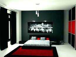 Red And Gray Bedroom Gray Black And White Bedroom White And Grey ...