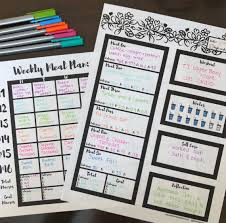 Free Printable Meal Plan Template Free Macro Meal Plan Templates Lets Live And Learn