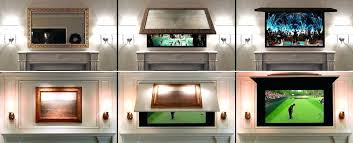 mirror tv covers frame solutions diy mirror cabinet tv cover