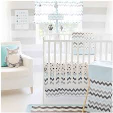the peanut shell 3 piece baby crib bedding set pink elephant and grey zig zag patchwork 100 cotton quilt crib skirt and sheet com