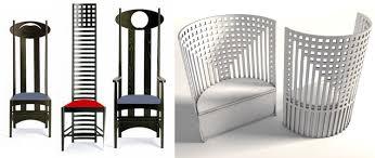 modern art nouveau furniture. charles rennie mackintosh chairs modern art nouveau furniture e