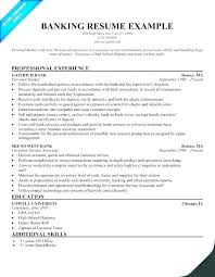 Personal Banker Resume Objective For Trainer Job Mysetlist Co