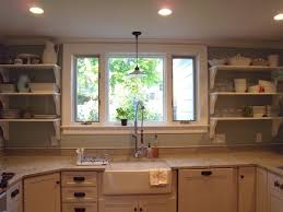Shelves Around Window Some Kitchen Window Ideas For Your Home Pictures Amp Tips From