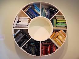 Circular Bookshelf by mysuspira, via Flickr