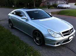 my cls 550 mod progression pics pics pics mbworld org forums painted my headlights and installed a carbon fiber front lip >i had the lights professionally painted and i have never had any fogging issues