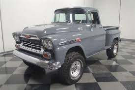 1959 Chevrolet 3100 Apache 4x4 Pickup Truck. Old Trucks for Sale ...