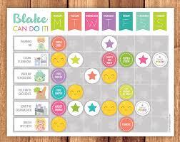 Rainbow Chore Chart