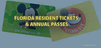 disney world tickets and annual pes