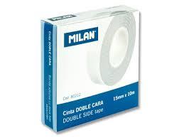 СКОТЧ <b>MILAN</b> 19MMX33M, ДВУСТОРОННИЙ 80212 ЦЕНА | pigu.lt