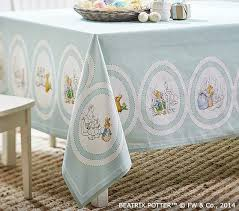 Peter Rabbit Easter Tablecloth | Pottery Barn Kids