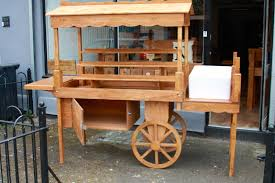 Stall Display Stands Display cart market stall wooden retail display stands vintage 39