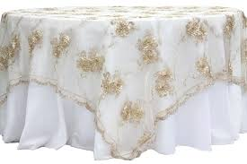 round lace table overlays vintage veil embroidery square overlay topper champagne al round lace table overlays