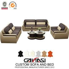 china modern style living room leather
