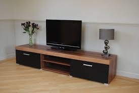 display units for living room sydney. 2 metre black \u0026 walnut sydney door tv cabinet extra large unit: amazon.co.uk: kitchen home display units for living room