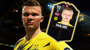 Jun 25, 2021 · initial rumours suggested that haaland was eyeing up a move to real madrid or manchester united but it is believed that he is open to a move to the european champions this summer or in 2022. Fifa 21 Haaland Kriegt Irre Starke Potm Karte Ist Ihr Geld Wert