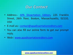 Dissertation Editing   Dissertation Editing Services by