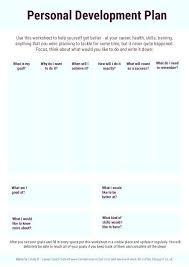 Employee Career Development Plan Template Labs Individual Personal ...