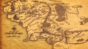Map of Middle Earth Wallpapers - Top ...